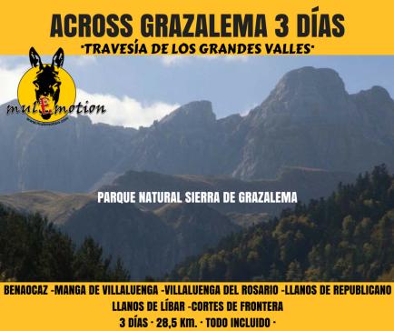 ACROSS GRAZALEMA 3 DÍAS